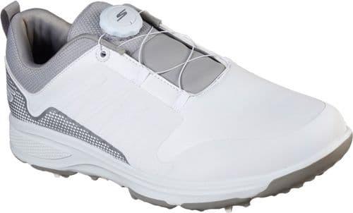 Skechers GO GOLF Torque Twist Mens Sports White / Grey